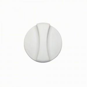 Cache filtre frigo Whirlpool blanc