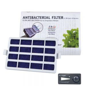 Filtre à air anti-bactérien pour frigo Whirlpool Microban ANT001 - 481248048172